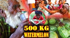 500 KG WATERMELON - Summer Health Drinks - WaterMelon Juice from Farm Fresh Fruits - Village Cooking by IndhuTv